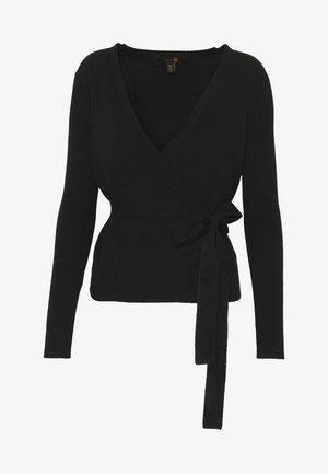 STAR CROSSED KNIT - Long sleeved top - black