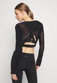 L'urv - ESTUARY - T-Shirt basic - black - 2