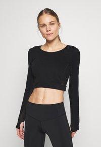 L'urv - ESTUARY - T-Shirt basic - black - 0