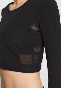 L'urv - ESTUARY - T-Shirt basic - black - 5