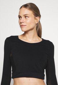 L'urv - ESTUARY - T-Shirt basic - black - 3