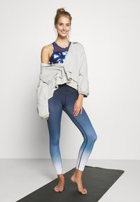 L'urv - DEEP DIVE 7/8 LEGGING - Medias - midnight - 1