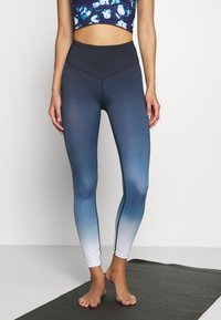 L'urv - DEEP DIVE 7/8 LEGGING - Medias - midnight - 0