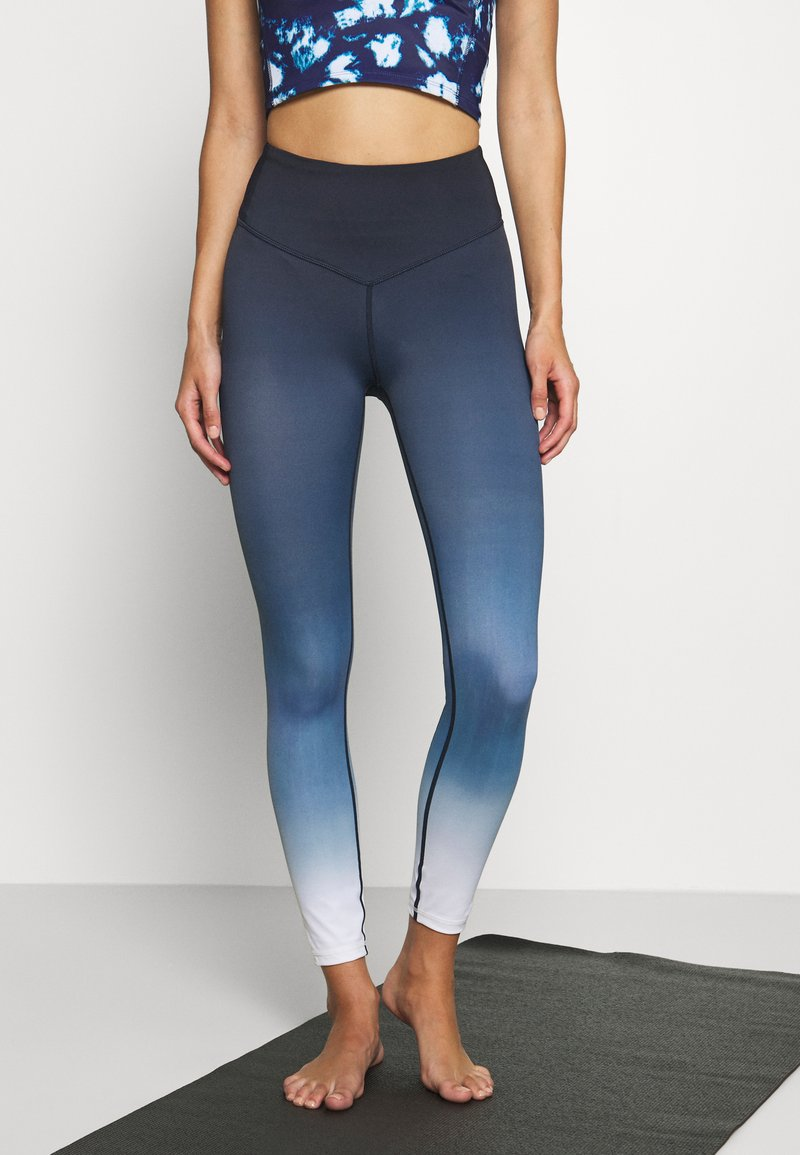 L'urv - DEEP DIVE 7/8 LEGGING - Medias - midnight