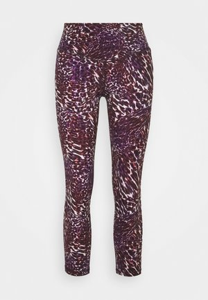 COSMIC HORIZONS LEGGING - Tights - plum