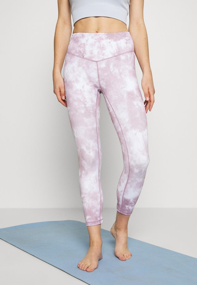 SOLAR MIST LEGGING - Tights - mauve
