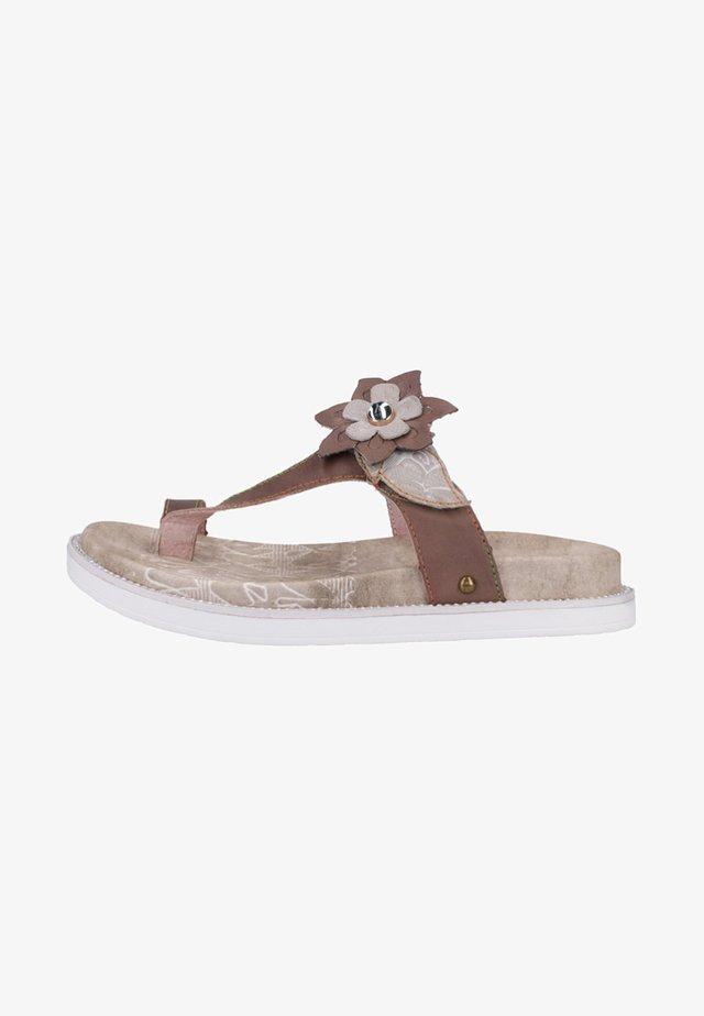 Sandaler m/ tåsplit - grey