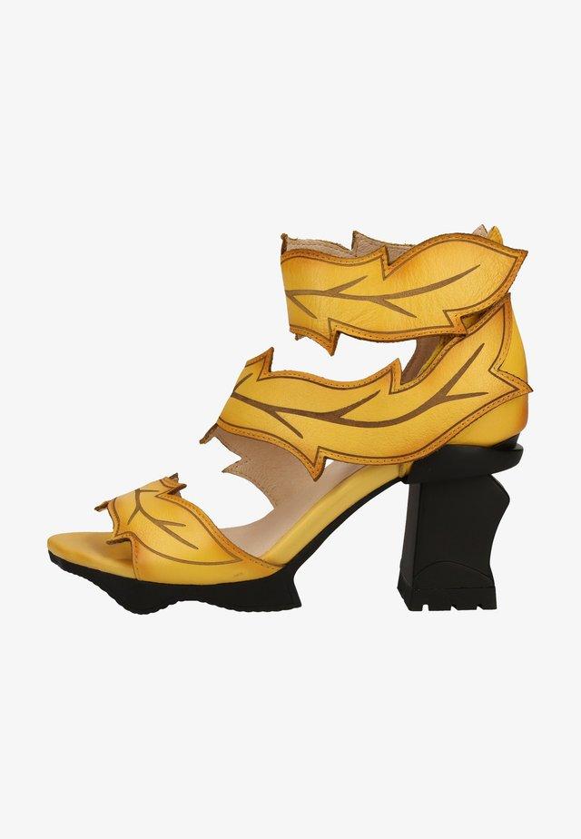 Sandały - yellow