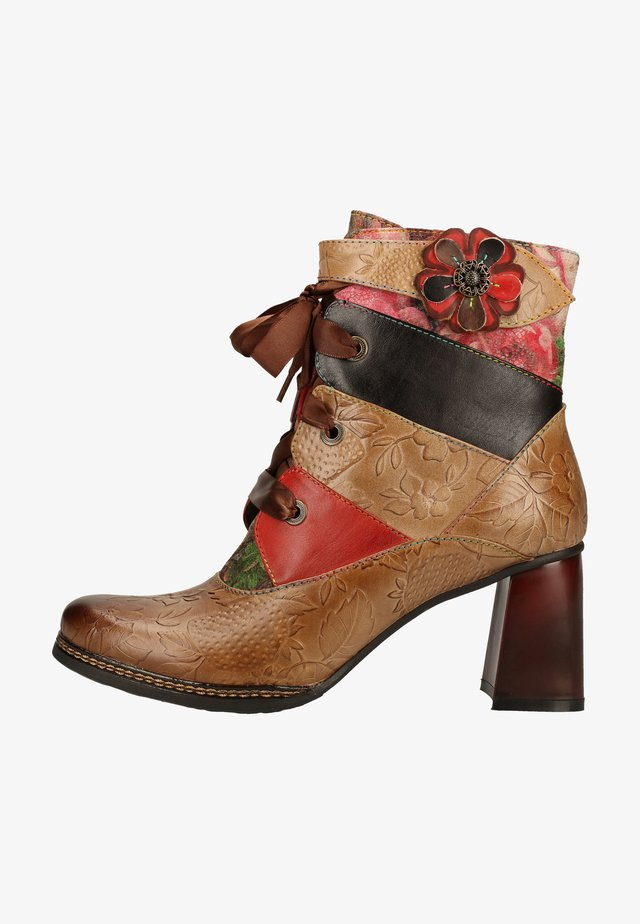 Ankle boot - chocolat