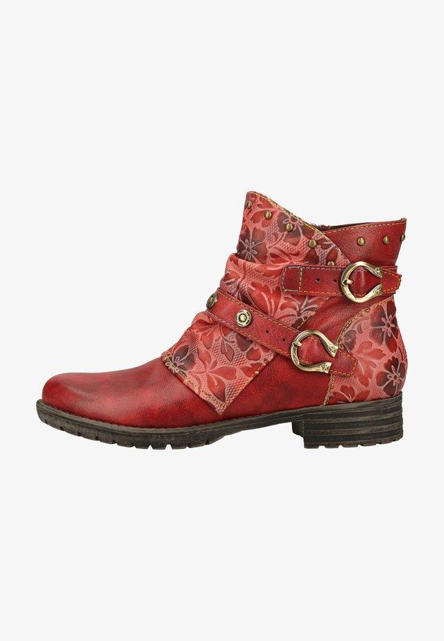 Støvletter - rouge