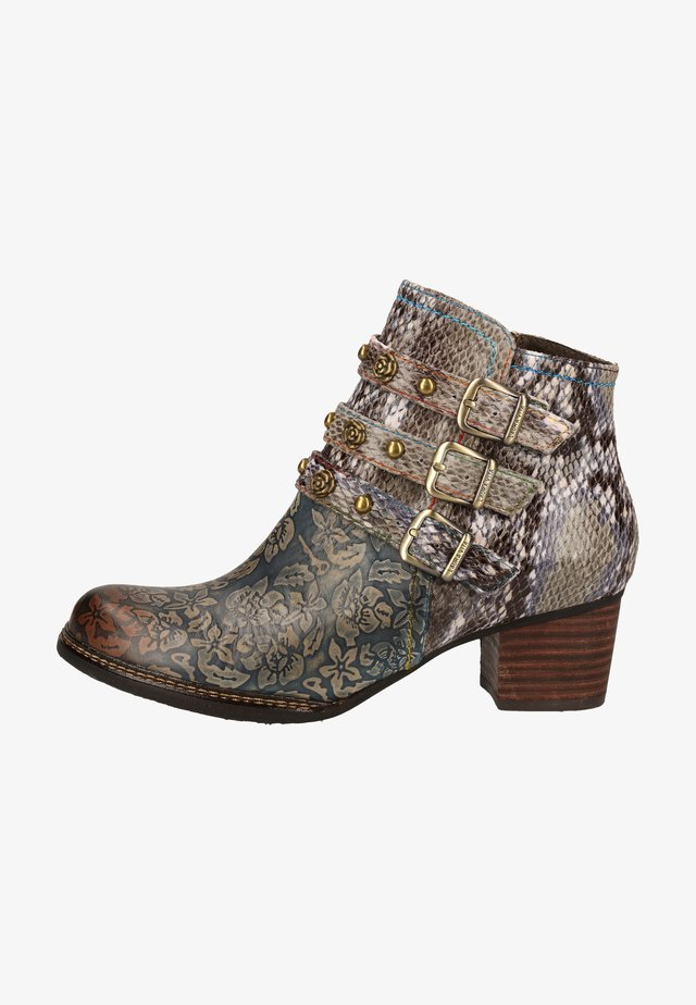 Ankle boot - gris