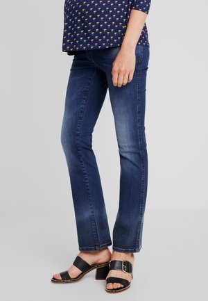 PANTS JUDY - Bootcut jeans - stone wash