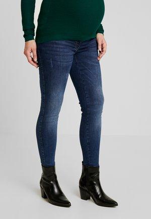 SOPHIA DESTROYED - Jeans slim fit - stonewash