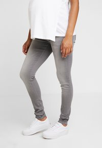 LOVE2WAIT - SOPHIA - Slim fit jeans - grey denim - 0