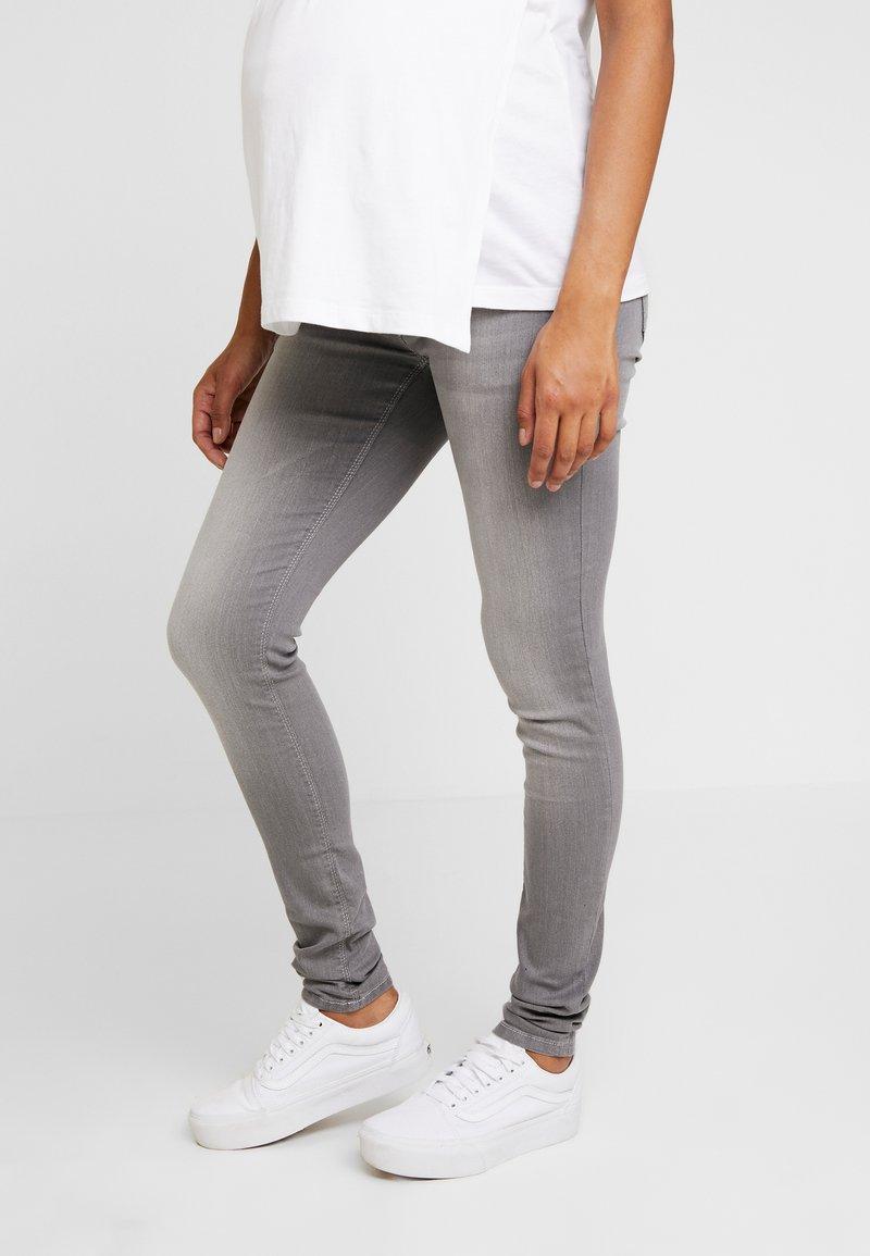 LOVE2WAIT - SOPHIA - Slim fit jeans - grey denim