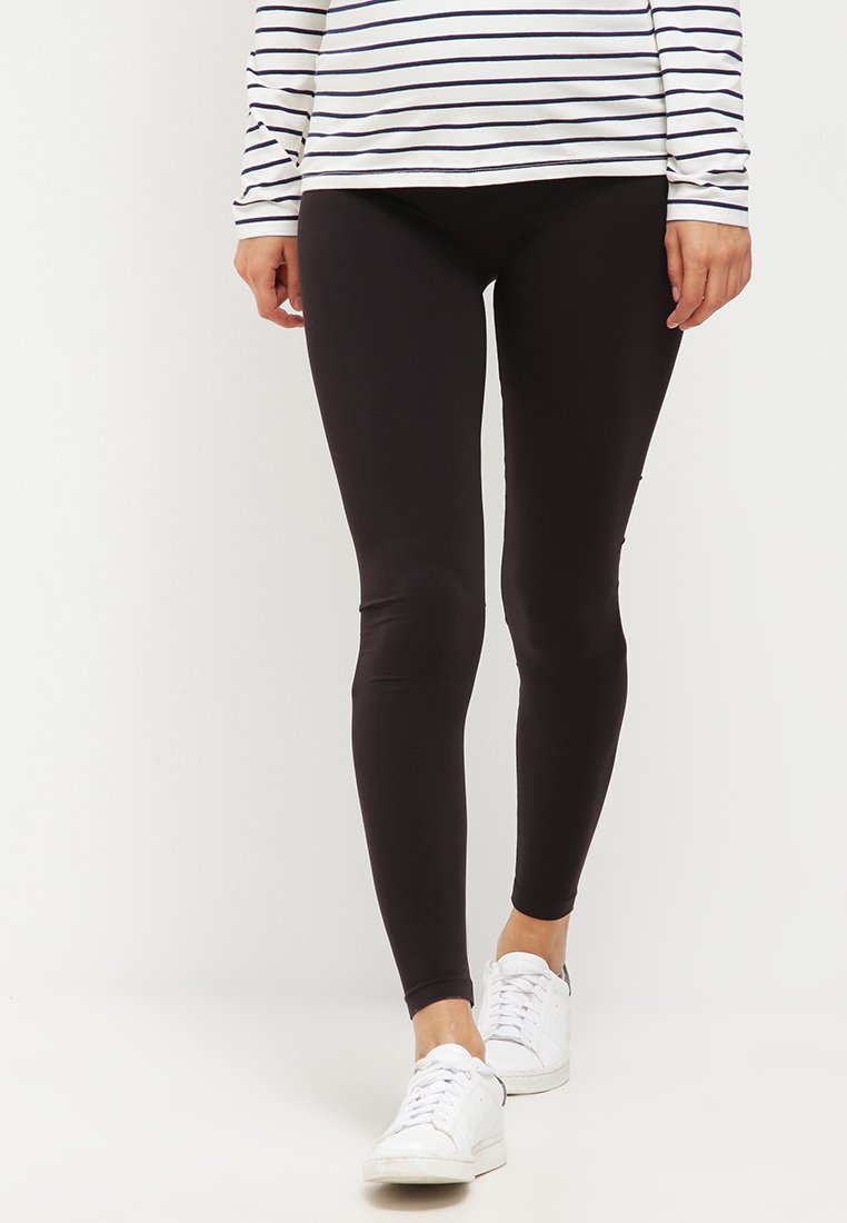 LOVE2WAIT - Leggings - Trousers - black