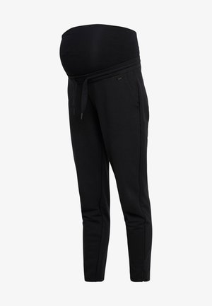 PANTS RELAX - Verryttelyhousut - black