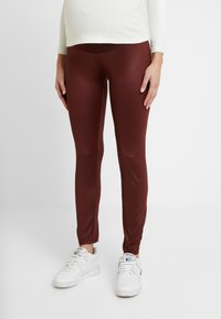 LOVE2WAIT - SHINNY - Legging - bordeaux - 0
