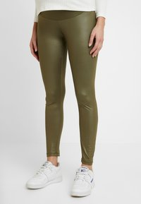 LOVE2WAIT - SHINNY - Legging - khaki - 0