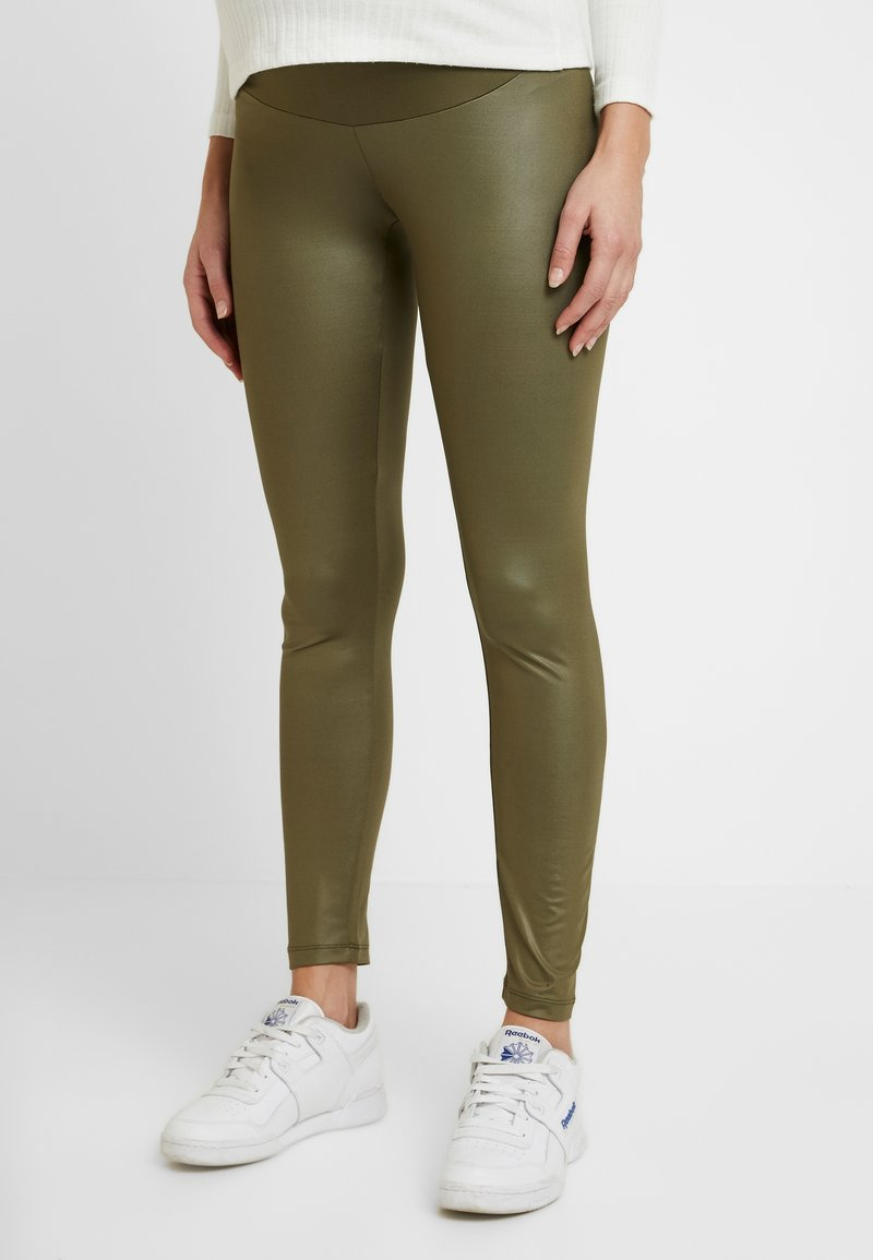 LOVE2WAIT - SHINNY - Legging - khaki