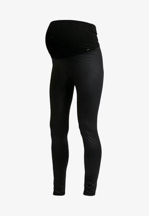 SHINNY - Leggings - Hosen - black