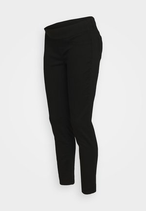 KEIRA CROPPED - Džíny Slim Fit - black