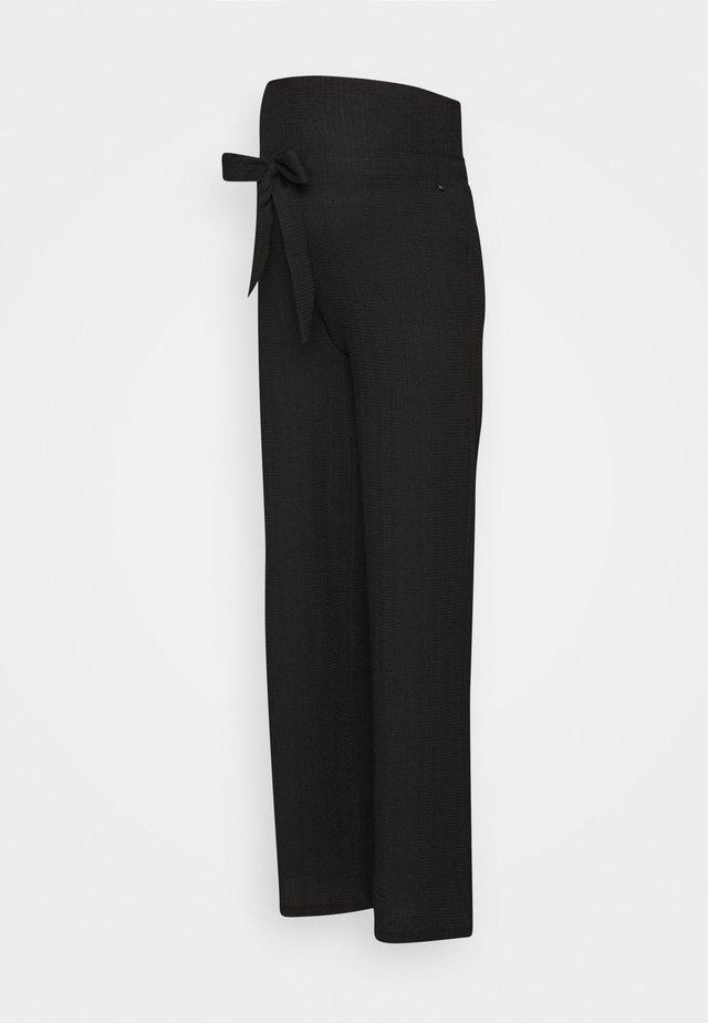 PANTS CRINCLE - Broek - black