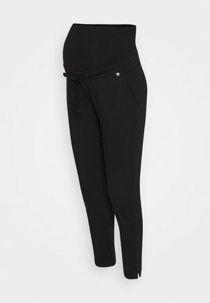 PANTS RELAX - Pantalones - black