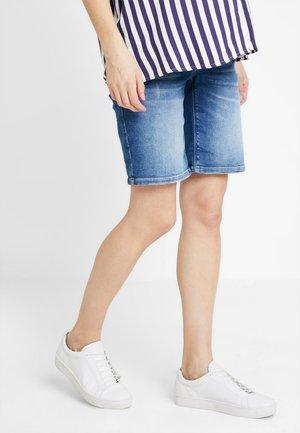 VINTAGE - Jeans Shorts - stonewash