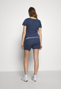 LOVE2WAIT - PLAYSUIT NURSING WASHED - Mono - blue - 2