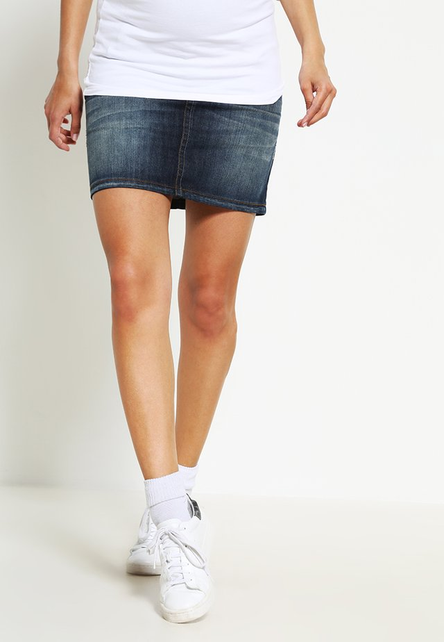Denim skirt - darkwash