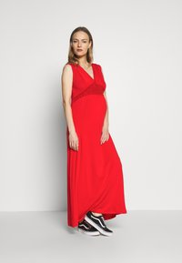 LOVE2WAIT - NURSING CROCHET - Vestido largo - red - 1