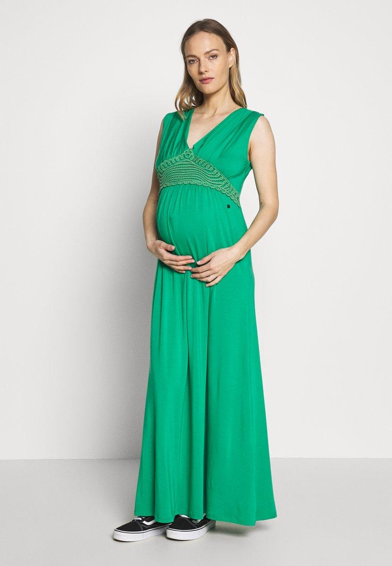 LOVE2WAIT - NURSING CROCHET - Długa sukienka - green