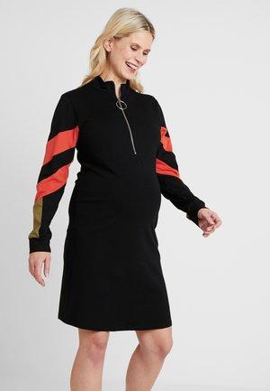 DRESS COLORBLOCK NURSING - Jerseyklänning - black