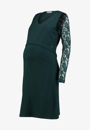 DRESS PONTE NURSING - Robe de soirée - teal