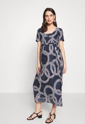 DRESS NURSING CIRCLE - Žerzejové šaty - dessin