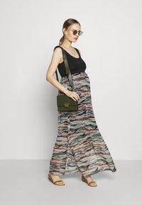 LOVE2WAIT - MAXIDRESS VOILE - Sukienka z dżerseju - multi-coloured/black - 1