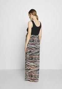 LOVE2WAIT - MAXIDRESS VOILE - Sukienka z dżerseju - multi-coloured/black - 2