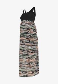 LOVE2WAIT - MAXIDRESS VOILE - Sukienka z dżerseju - multi-coloured/black - 5