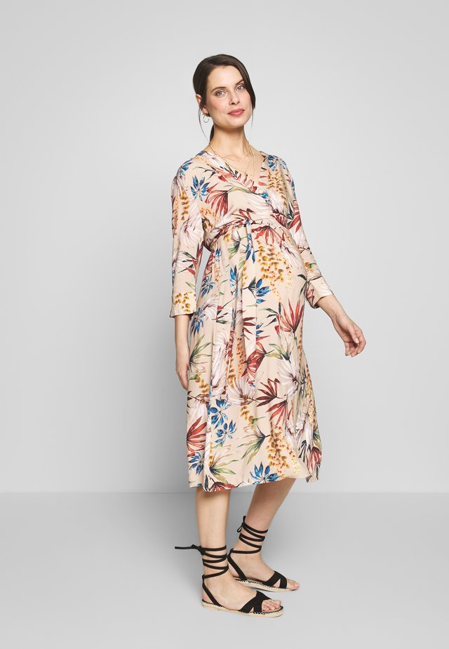 SHIRTDRESS FLOWERDESSIN - Korte jurk - multi-coloured