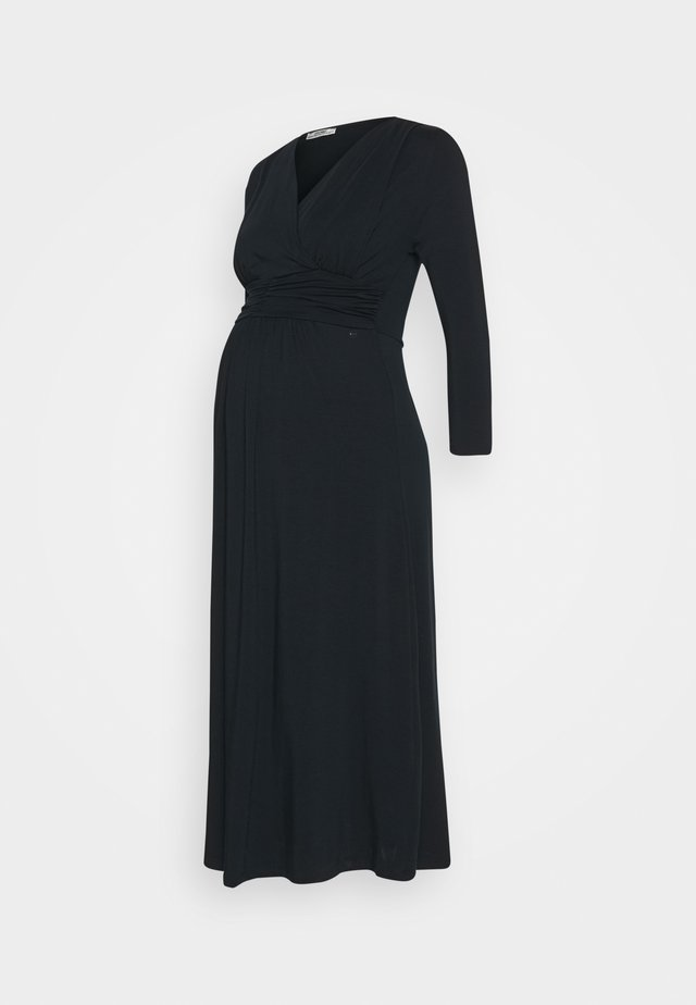 DRESS NURSING GOTS - Sukienka z dżerseju - navy