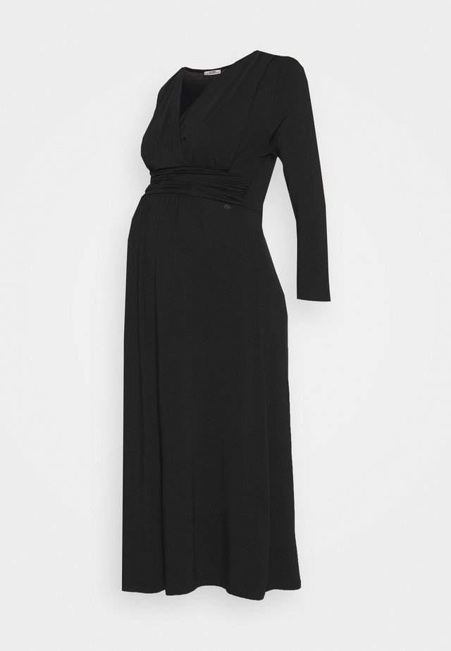 DRESS NURSING GOTS - Jersey dress - black