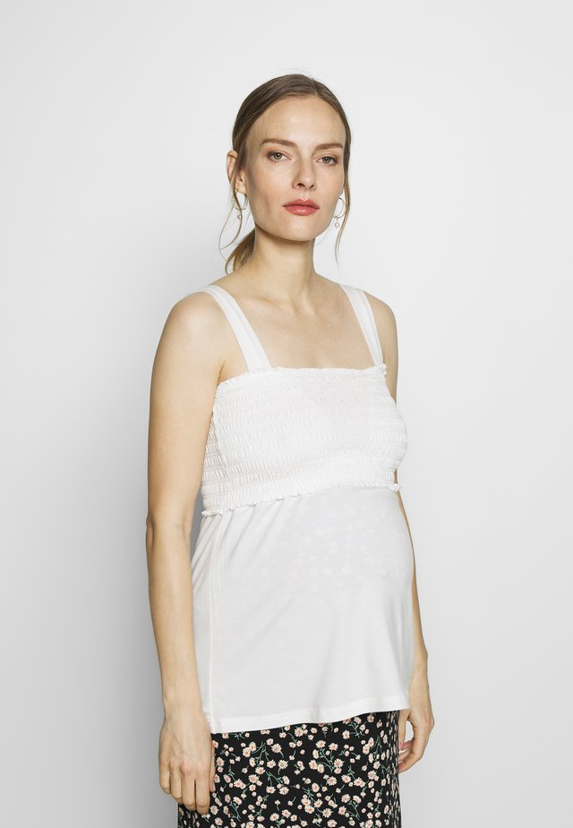 NURSING SMOCK - Top - offwhite