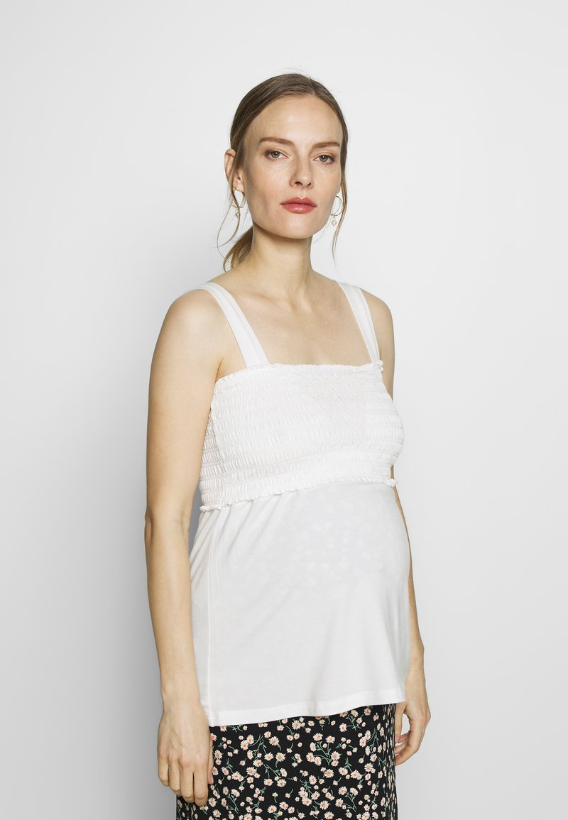 LOVE2WAIT - NURSING SMOCK - Top - offwhite