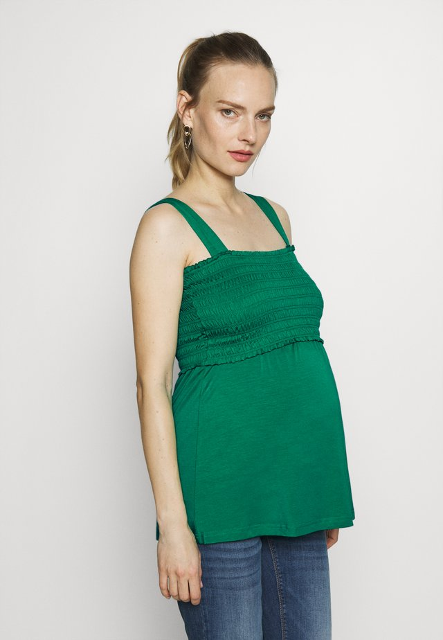 NURSING SMOCK - Top - green
