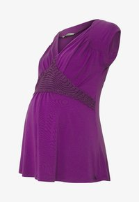 LOVE2WAIT - NURSING CROCHET - Camiseta estampada - purple - 4