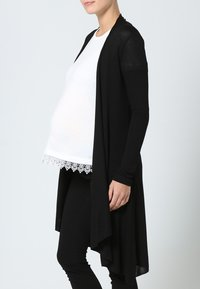 LOVE2WAIT - CARDIGAN - Strickjacke - black