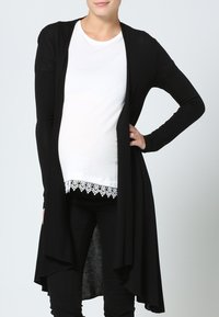 LOVE2WAIT - CARDIGAN - Strickjacke - black - 0