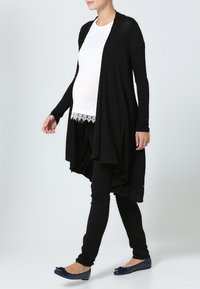 LOVE2WAIT - CARDIGAN - Strickjacke - black - 1