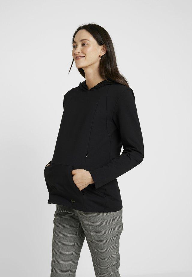 HOODY NURSING - Sweatshirt - black